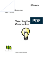 Teaching and Learning Companion