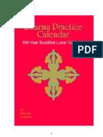 Dharma Calendar