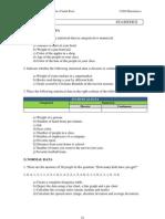 Unit 10 - Statistics word problems