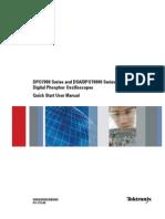 DPO7000-DPO70000-DSA70000 Quick Start User Manual - 071-1733-08