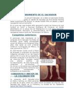 Monografia de El Salvador