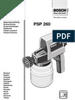 PSP 260 BOSCH
