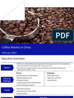Market Research Report :Coffee Market in China 2012