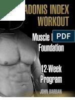 Muscle Building Foundation - 12 Week Program