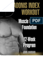 Muscle Building Foundation - 12 Week Program