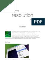 """預覽""""Understanding Resolution in Photoshop"""""""