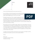 RA/CA - Welcome Letter, Schedule, & Job Description