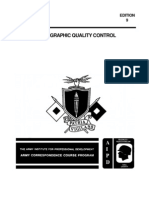 US Army Photography Course SS0513-9 - Photographic Quality Control