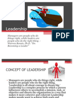 One More of Leadership