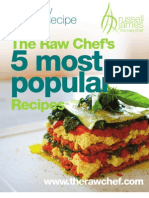 Therawchef.com 5 Popular Recipes