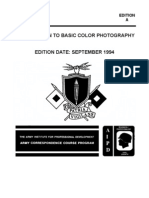 US Army Photography Course SS0514-A - Introduction to Basic Color Photography