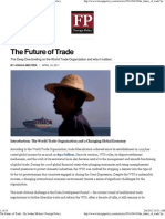 The Future of Trade - By Joshua Meltzer _ Foreign Policy