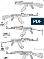 AK47 Variation Chart