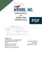 Parts Manual 13000