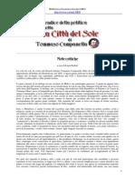 Tommaso Campanella - La Città Del Sole