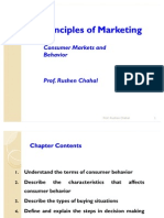 Principles of Marketing- Consumer Markets and Behavior