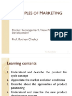 Principles of Marketing- New Product Development