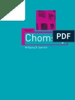 Chomsky Critical Lives