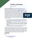 Buyer Decision Processes