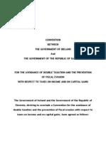 DTC agreement between Slovenia and Ireland