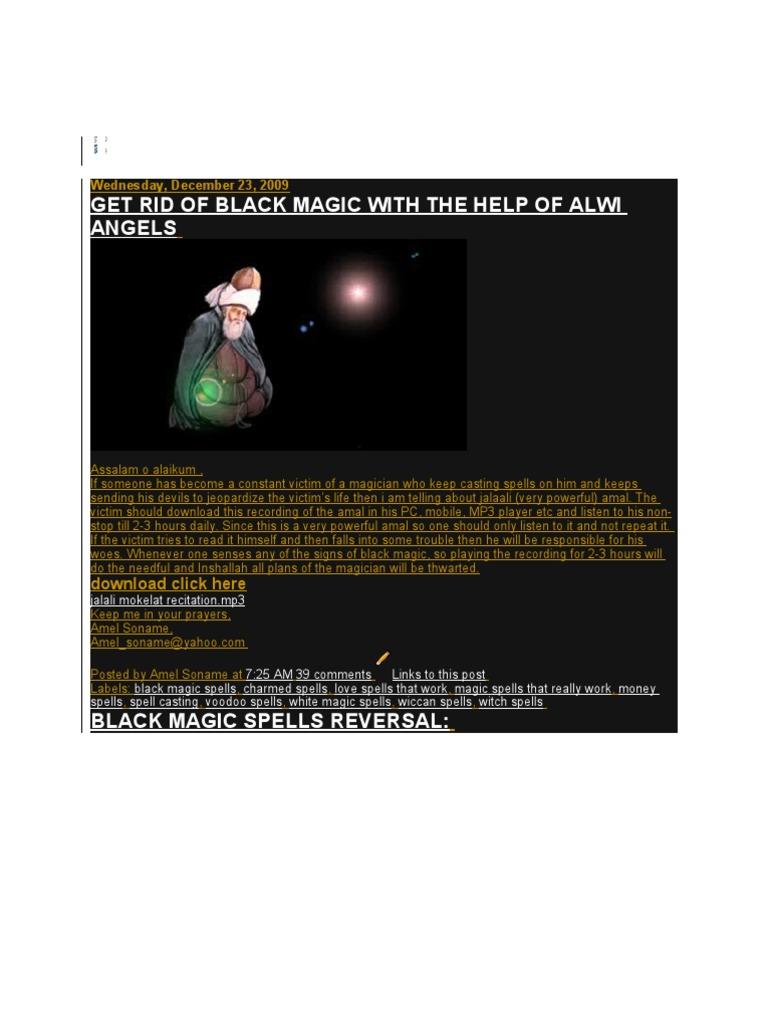 Black Magic Spell Reversal With Quran | Magic (Paranormal