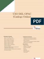 Uso Del OPAC