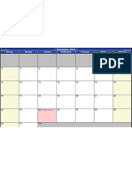 2012 PD Monthly Calendar
