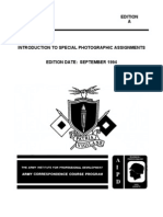 US Army Photography Course SS0516-A - Introduction to Special Photographic Assignments