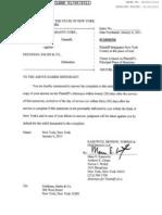 ΜΗΝΥΣΗ 06/01/2011 ΚΑΤΑ GOLDMAN SACHS ΑΠΟ ACA FINANCIAL GUARANTE CORPORATION