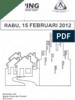 Scan Kliping Berita Perumahan Rakyat dari Media Online, 15 Februari 2012