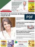Jornal União - Edição de 15 à 29 de Fevereiro de 2012