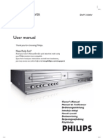 Philips Dvp3100v User Manual