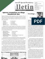 Special Presbytery Bulletin