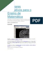 Softwares Educativos para o Ensino de Matemática
