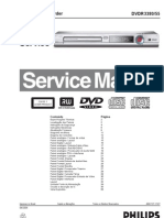 Manual Servico Dvd Philips Dvdr3380