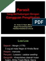 Mata - Parasit Gangguan Penglihatan