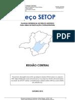 Planilha de Custo Setop - Regiao Central