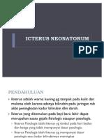 ICTERUS NEONATORUM