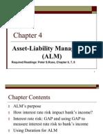 Asset Liabilities ALM