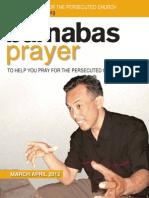 Prayer Diary March/April 2012