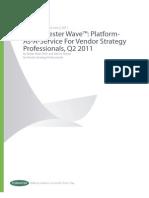 Wave Platform-As-A-service for Vendor Strategy Professionals q2