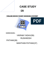 Online Movie Ticket Booking