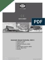 AGC-3 Data Sheet 4921240396 UK