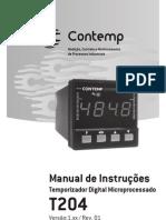 Catalogo de Temporizador T204