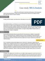 MIS & Analysis