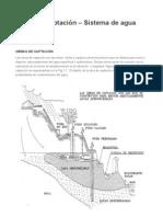 Obras de captación – Sistema de agua potable