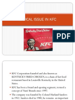 Ethical Issue in Kfc