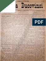 Gazeta Bucovinei #53, Joi 18 Iulie 1895