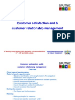 Customer Satisfaction Romania URTP