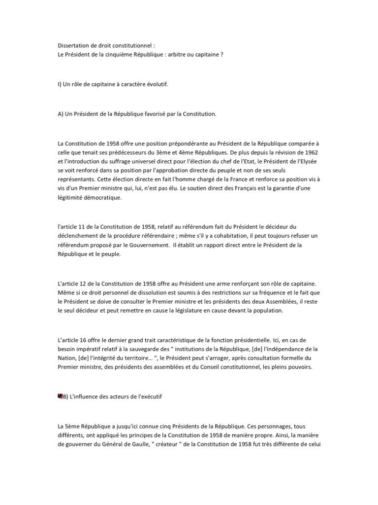 Mthode dissertation droit constitutionnelle resume red cross customer service